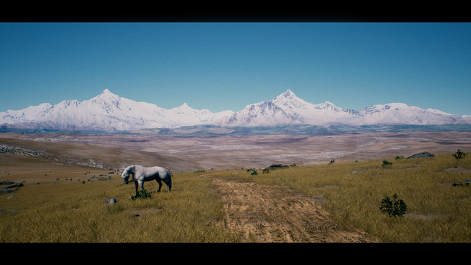 (In-game screenshot) Central Asian countries such as Tajikistan are uncharted lands, with rare items and expensive trade goods