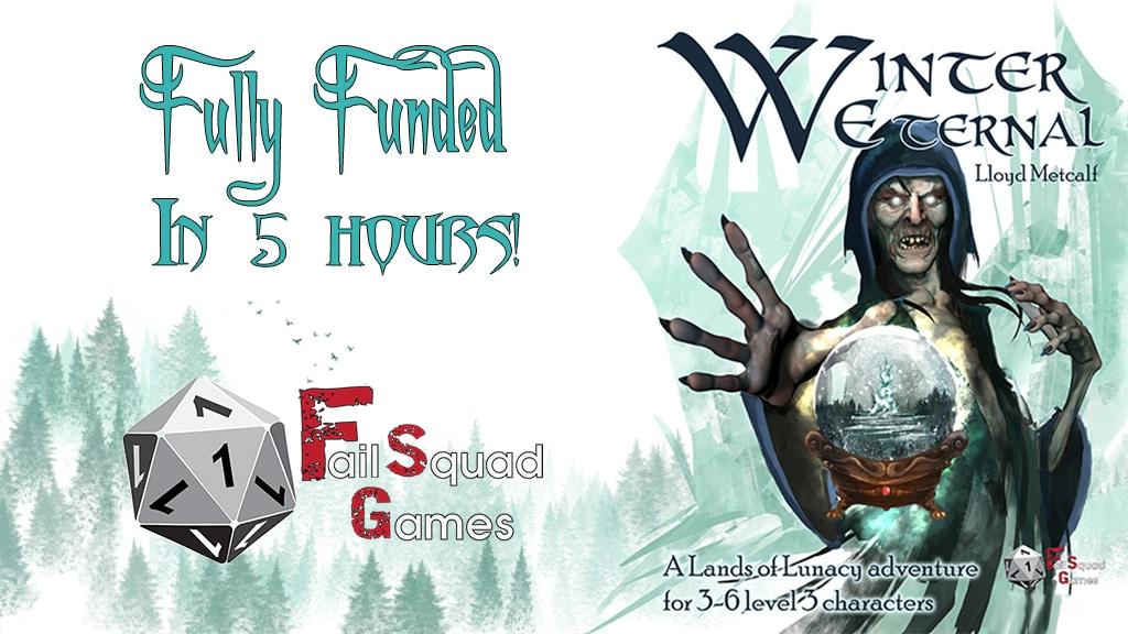Winter Eternal - Tabletop RPG Adventure Module project video thumbnail