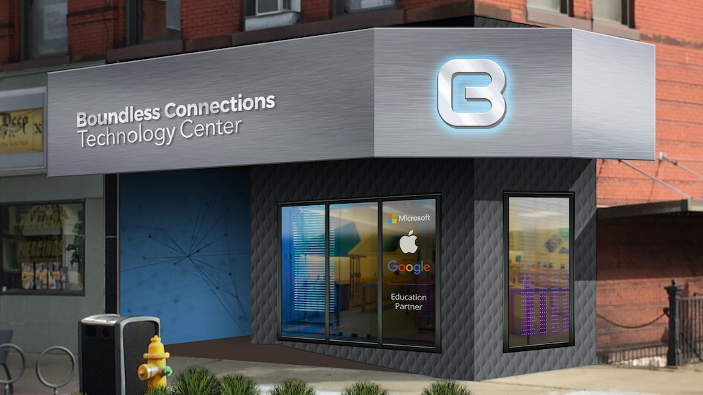 Boundless Connections Technology Center project video thumbnail