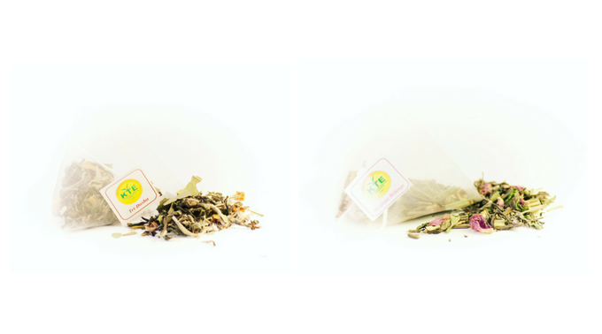 Tri-Dosha & Mystique Melange – Two of our unique tea blends (only in pyramid teabags)