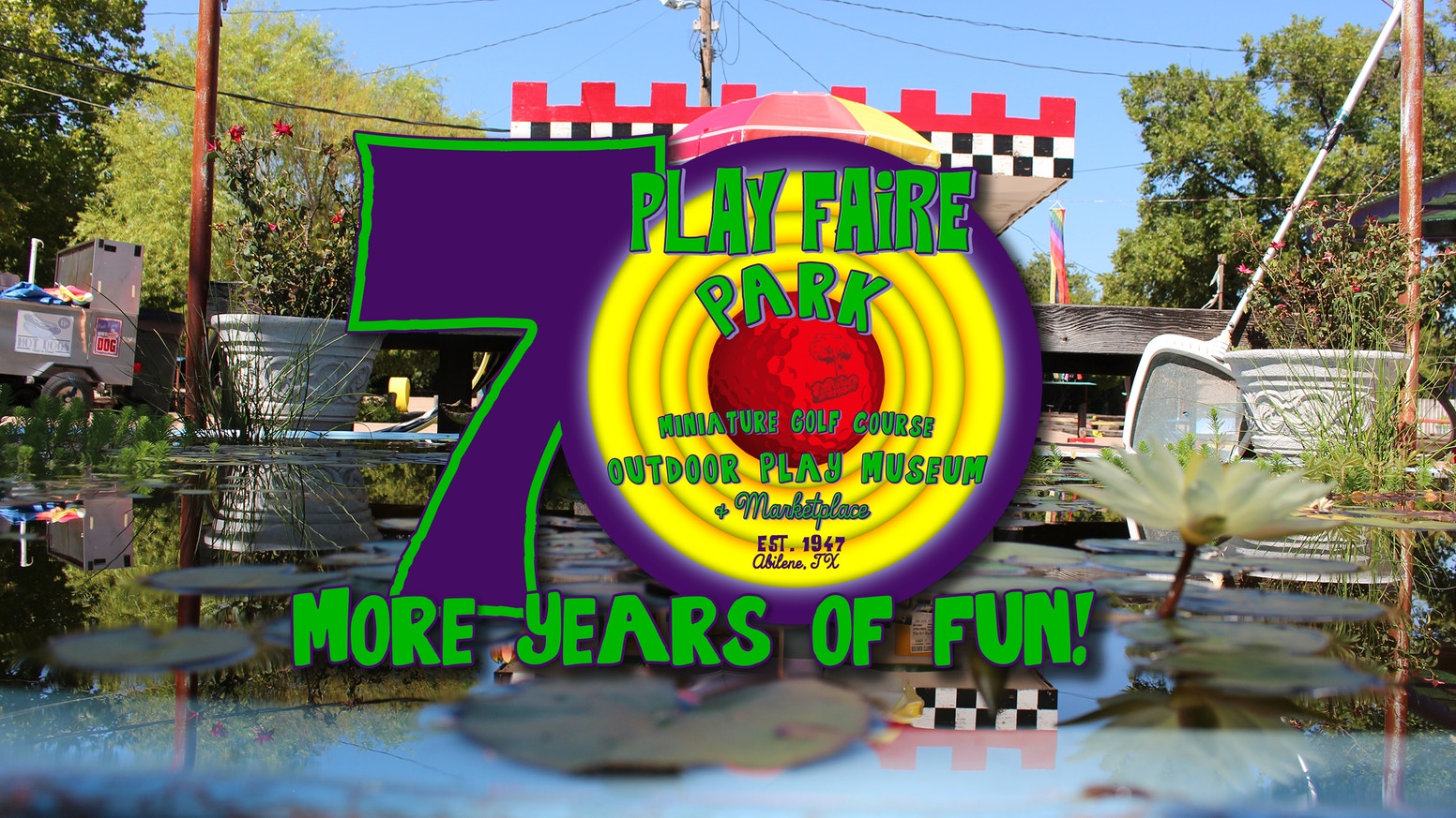 Polishing a local treasure, so it can keep on shining for 70 More Years of Fun. Join us on our journey as a Friend of Play Faire Park!