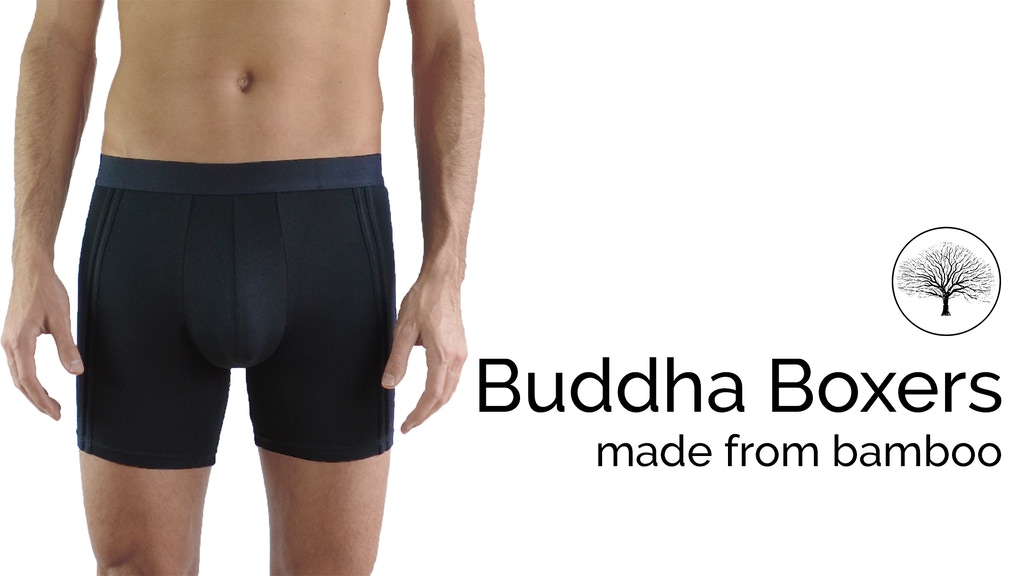 Buddha Boxers: Ecologically Sustainable Underwear Zen project video thumbnail