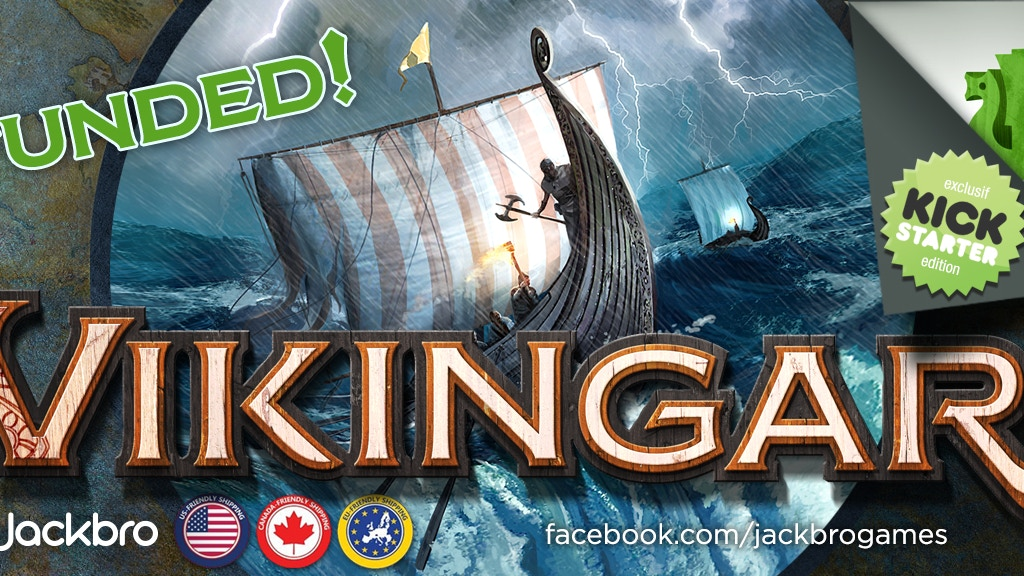 Vikingar: Conquest of the world – Exploration Boardgame project video thumbnail