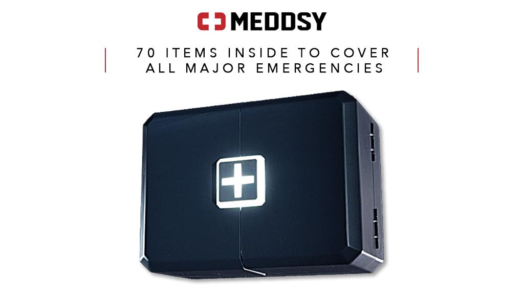 Meddsy - next generation smart emergency kit project video thumbnail