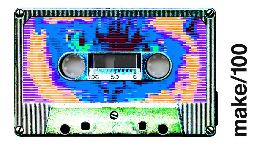 Make/100: Mixed-Up Mixtapes project video thumbnail