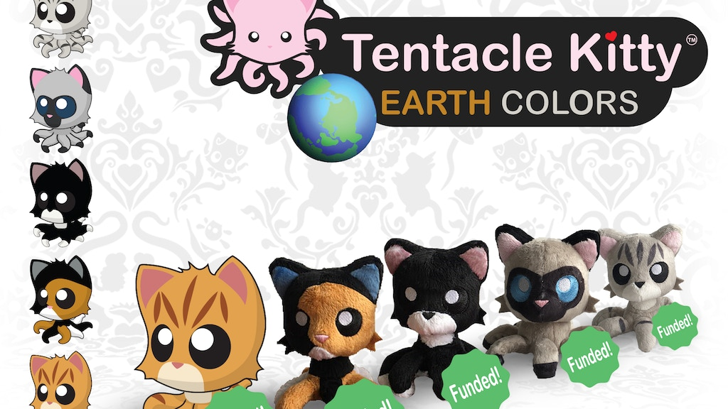 Tentacle Kitty: Earth Color Little Ones project video thumbnail