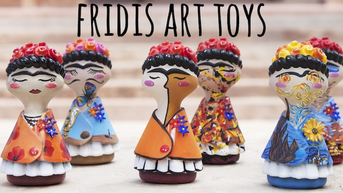A unique Art Toy collection inspired on the most famous painters of art history. Hand painted by talented Mexican Artisans!