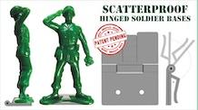 Scatterproof - Hinged Soldier Bases