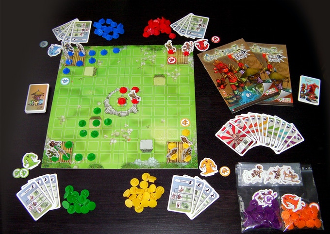 Color Warz - Paint Braw boardgame