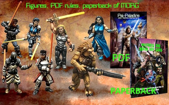 Miniatures + PDF + Core Rulebook