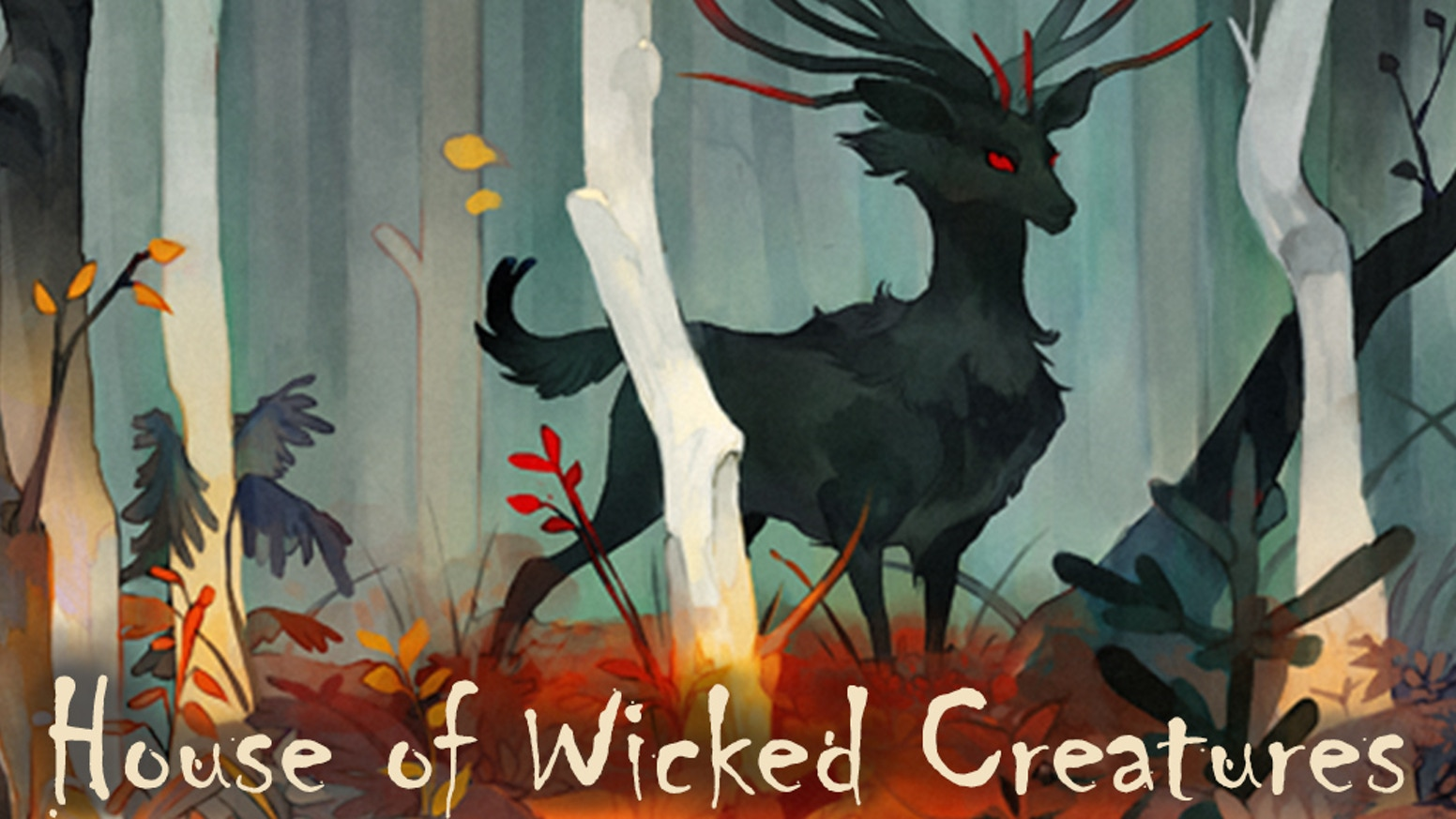 Help fund indie dark fantasy HOUSE OF WICKED CREATURES, a nightmarish comic about forest animals and ghosts by Vera Greentea and ELK.
