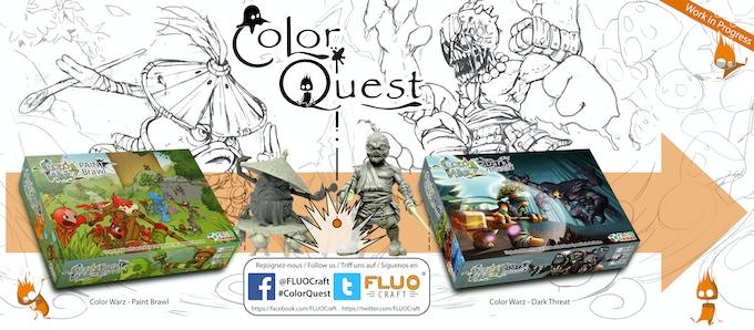 Color Quest Time Line