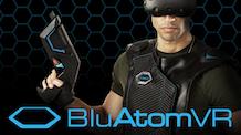 BluAtomVR – World's 1st Immersive Wireless VR Vest & Gun