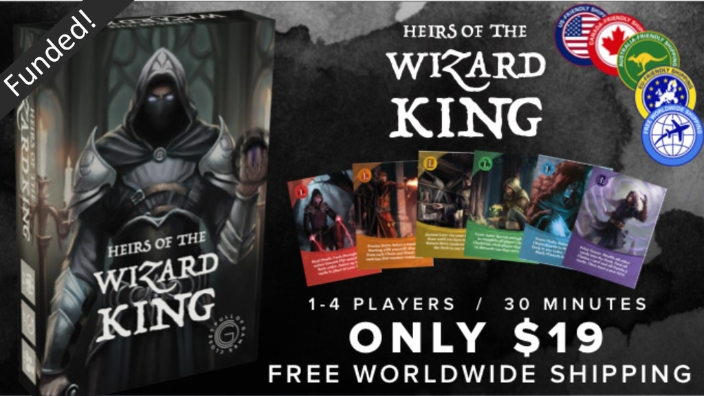 Heirs of the Wizard King project video thumbnail