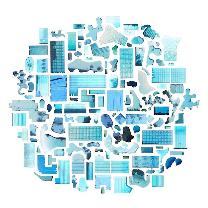 Jenny Odell Satellite print (Swimming Pools) - $200