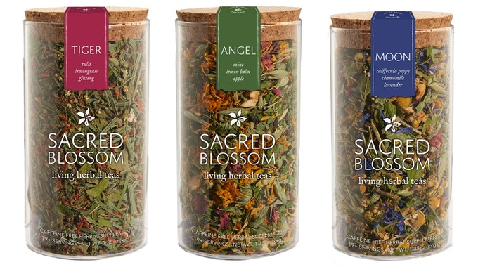 Sacred Blossom Living Herbal Tea by Tony DiMaggio — Kickstarter