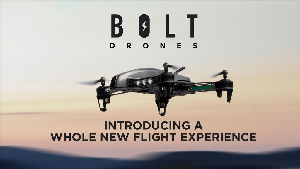 BOLT DRONES – INTRODUCING A WHOLE NEW FLIGHT EXPERIENCE project video thumbnail