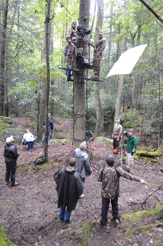 Still from THE HUNTED