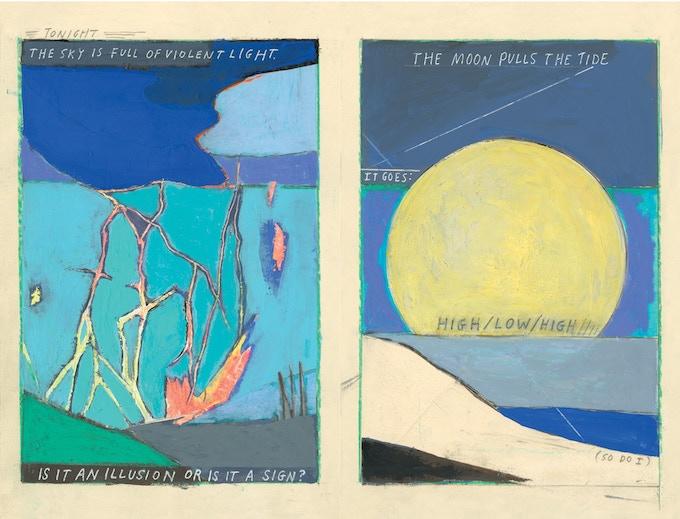 Archival print by Alyssa Berg   Spread 1