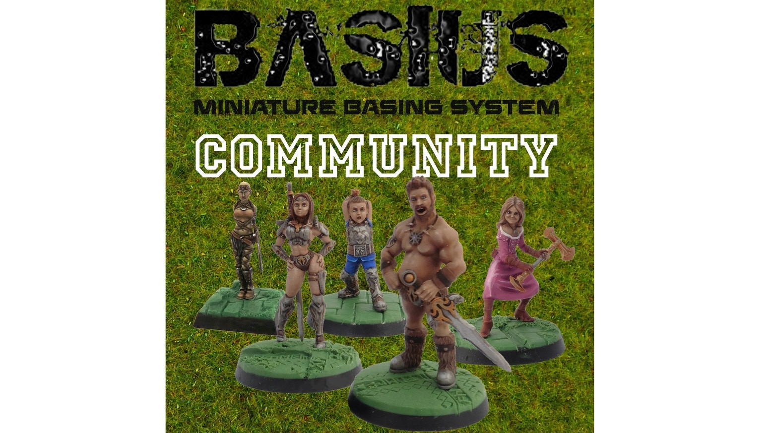 Kickstarter's most detailed Miniature Basing & Sculpting System returns - and this time its all about the tabletop wargames COMMUNITY