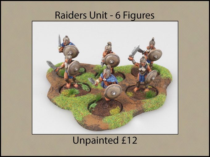 Unit of 6 Figures with Hero
