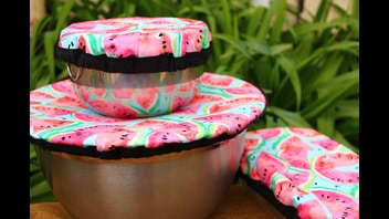 Reusable Dish & Bowl Covers- Eco-friendly fabrics