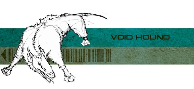 Void Hound concept sketch.