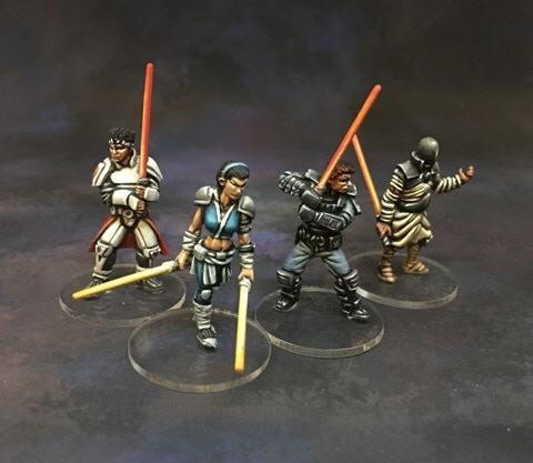The four Psi-Paladins