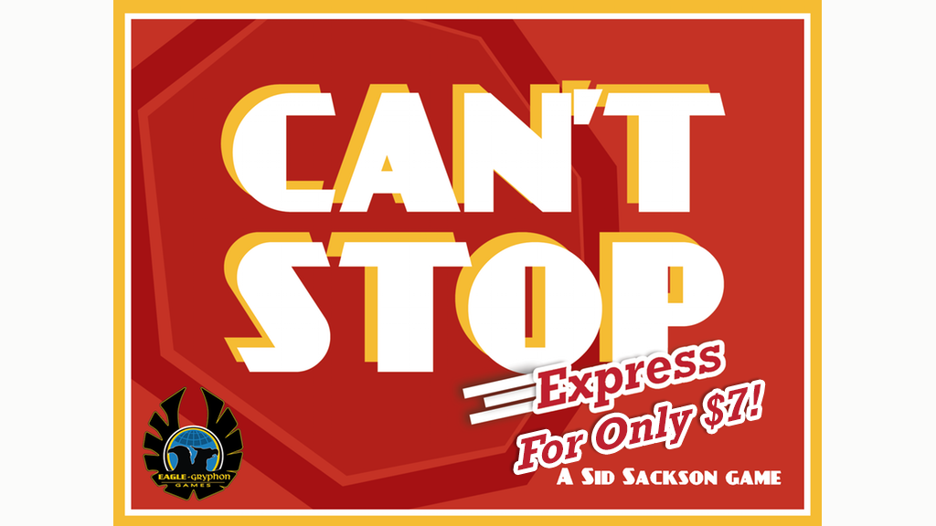Can't Stop EXPRESS project video thumbnail