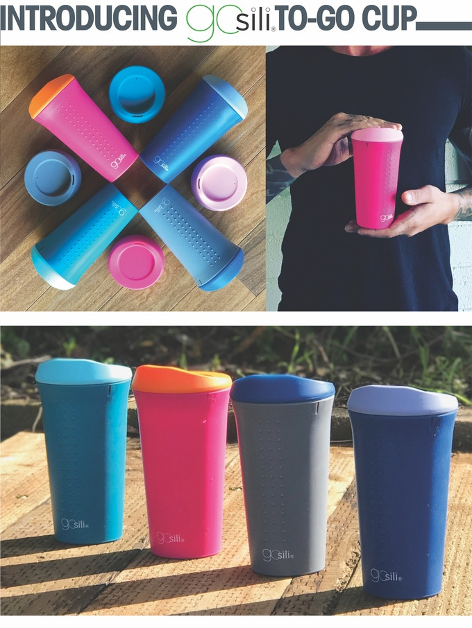 GoSili® Silicone To Go Coffee Cup