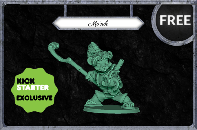 Mo'nik - Kickstarter exclusive miniature!