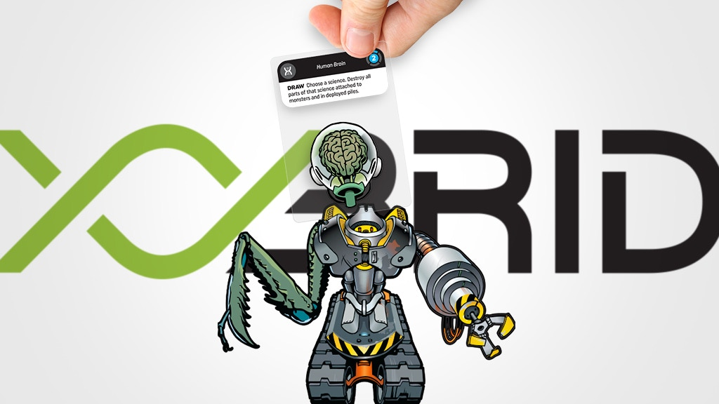 XYbrid — A monster-building transparent card game project video thumbnail