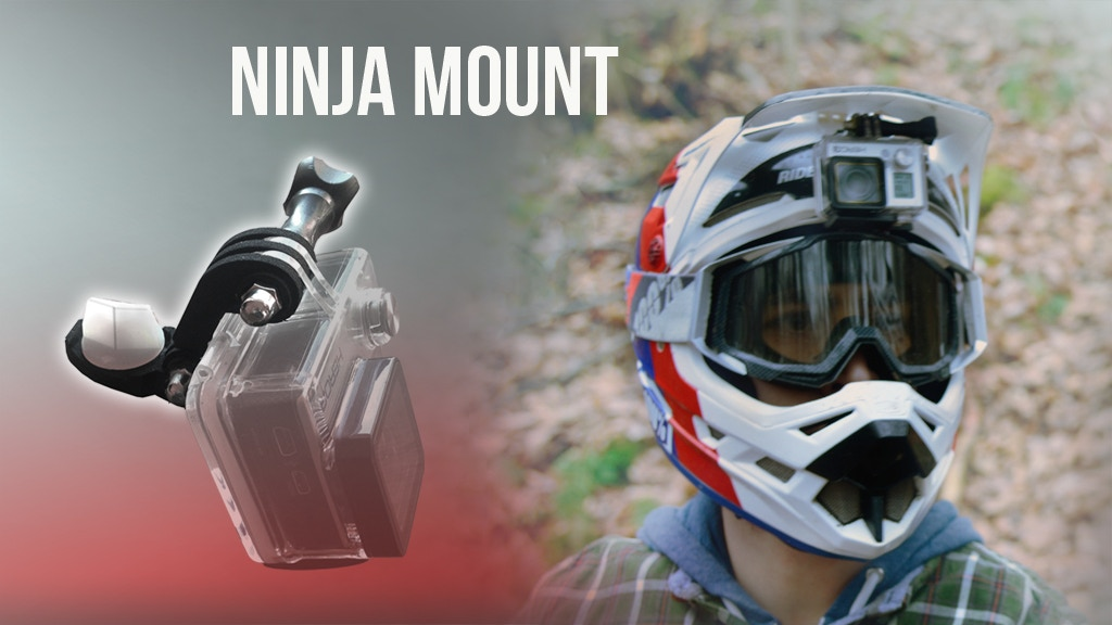 NINJA MOUNT - Action Cam Mount for Downhill, Motocross & ATV project video thumbnail