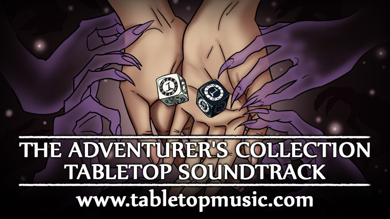 The Adventurer's Collection Tabletop Soundtrack is a music collection designed to create the perfect mood while playing tabletop games!