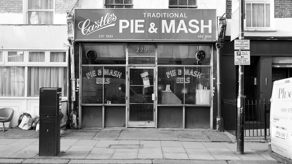 Pie and Mash London project video thumbnail