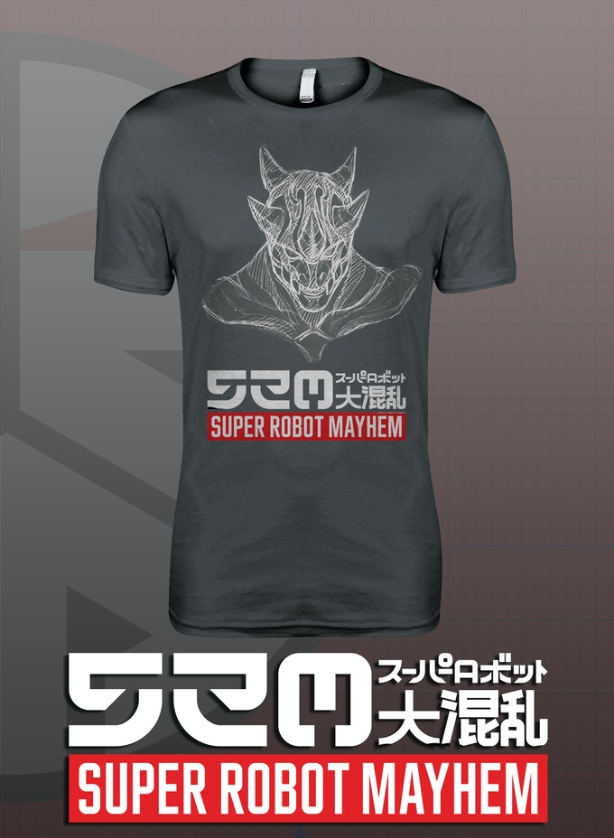 Super Robot Mayhem T-shirt