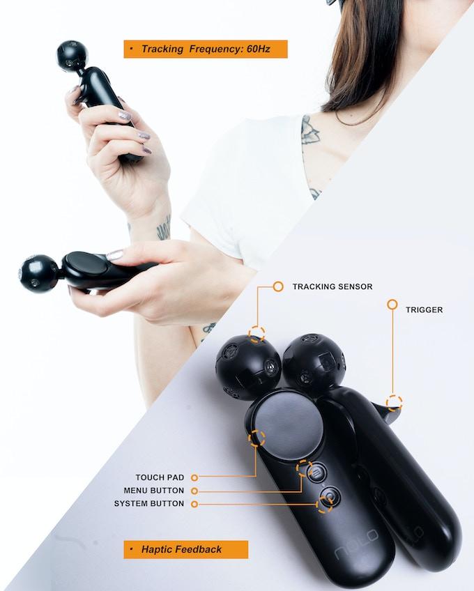 Se agregará un botón de agarre en cada controlador cuando enviemos el producto