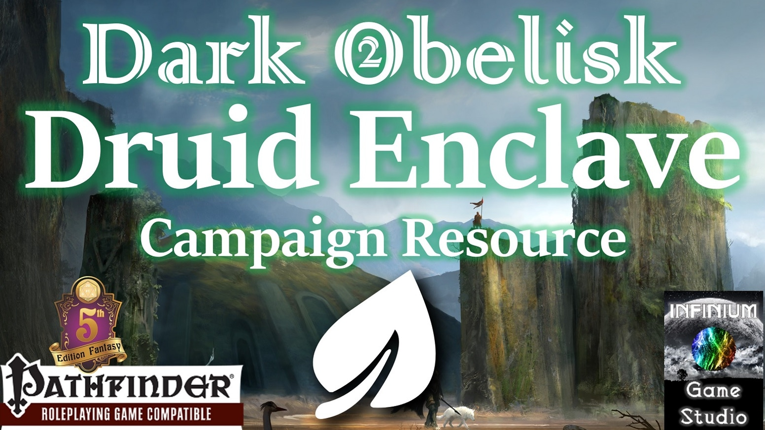A richly-detailed RPG city campaign setting, the Druid Enclave from Dark Obelisk 2 has NPCs, Quests, lore, >100 maps, and much more!