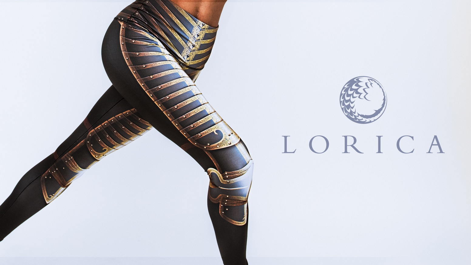 Leggings inspired by armor, history, and geekery. Made in the USA from fabrics derived from recycled plastic bottles.