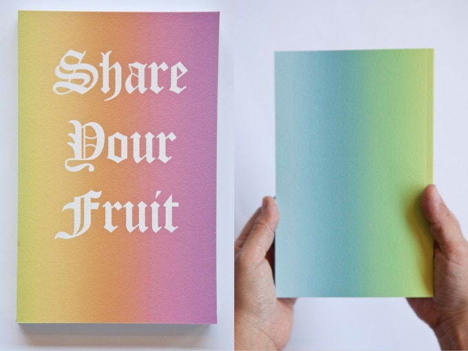 Fallen Fruit notebooks (Share Your Fruit) - $25
