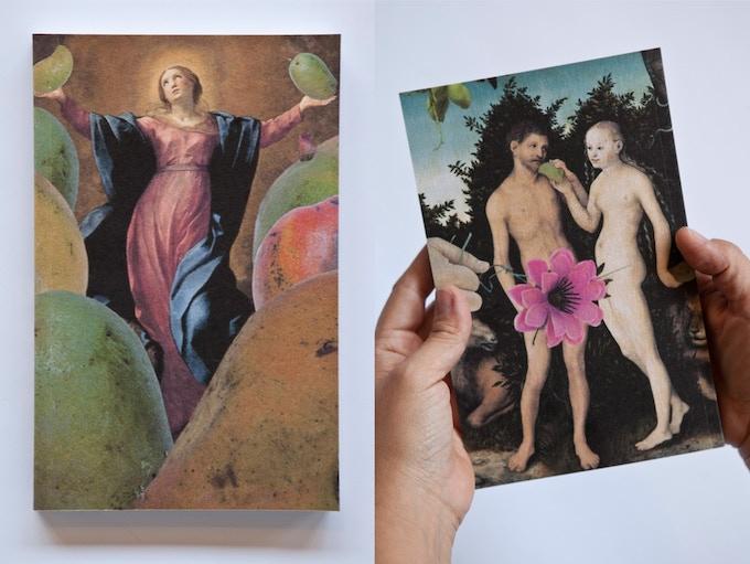 Fallen Fruit notebooks (Virgins and Mangoes) - $25
