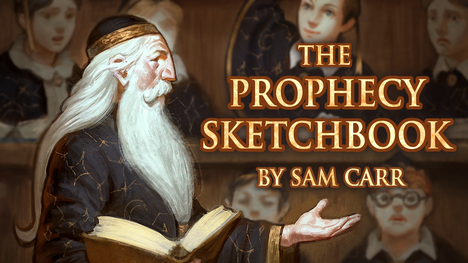 A book of paintings and sketches created by Sam Carr. Explore the artwork of this fairytale world with a dark and humorous twist.