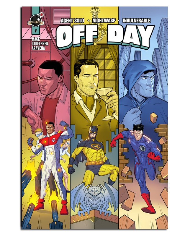 """""""Off Day"""" Cover"""