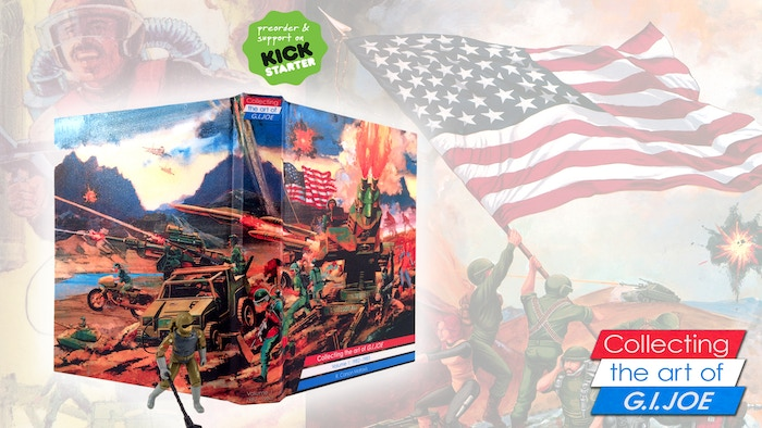Collecting the art of G.I. Joe: Volume 1 is a celebration of the first two years of painted art from G.I.Joe: A Real American Hero!