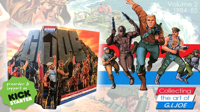 Collecting the art of G.I. Joe: Volume 2 (1984-1985) is a celebration of two of the biggest years from G.I.Joe: A Real American Hero!