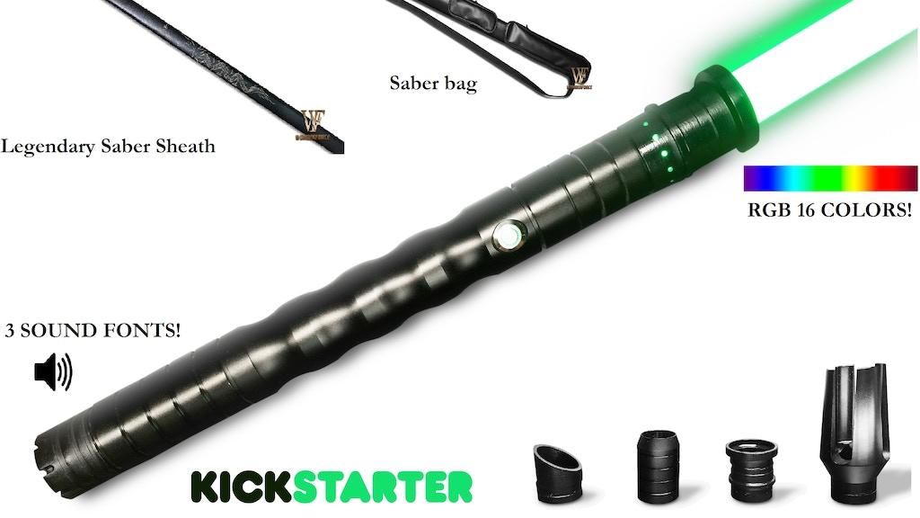WonderForce Custom Lightsaber - The Hitoren project video thumbnail