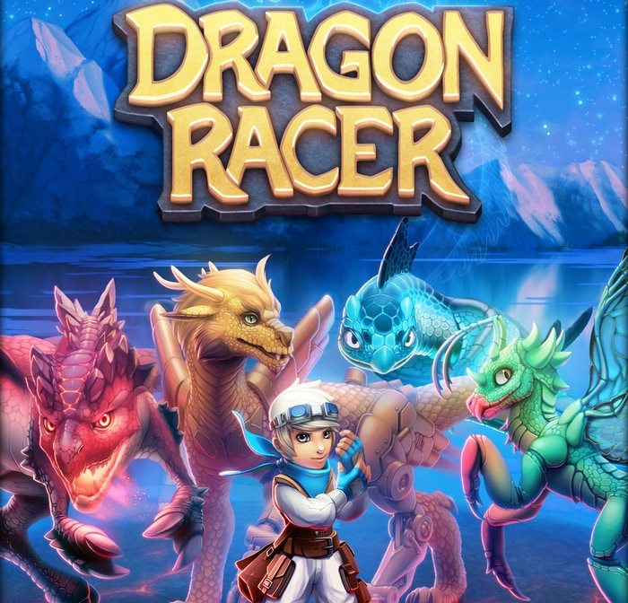 Dragon Racer is a fast-paced strategy board game that is easy to learn, but hard to master. It features a unique combination of card drafting and set collection that makes every game an exciting challenge!