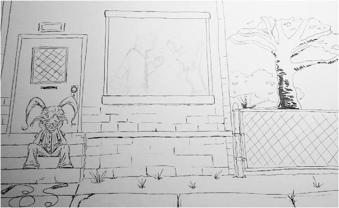 "Diabetic Joe: Book 2 ""Standing Together"" (Sketch)"