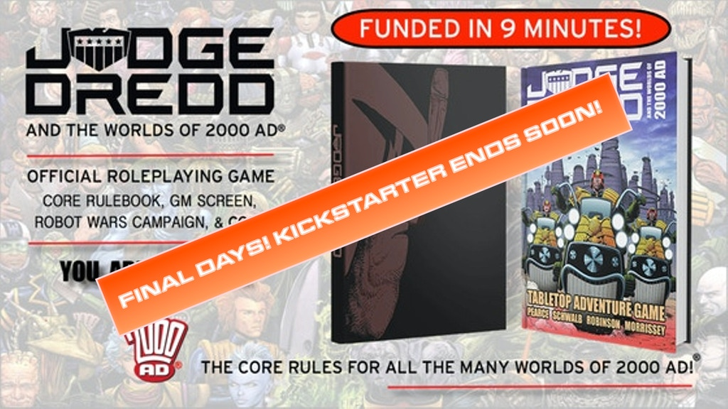 Judge Dredd & The Worlds of 2000 AD Roleplaying Game project video thumbnail