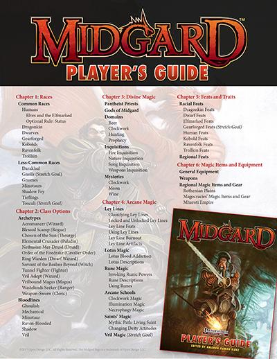 Midgard Campaign Setting: Dark Roads & Deep Magic by Kobold Press